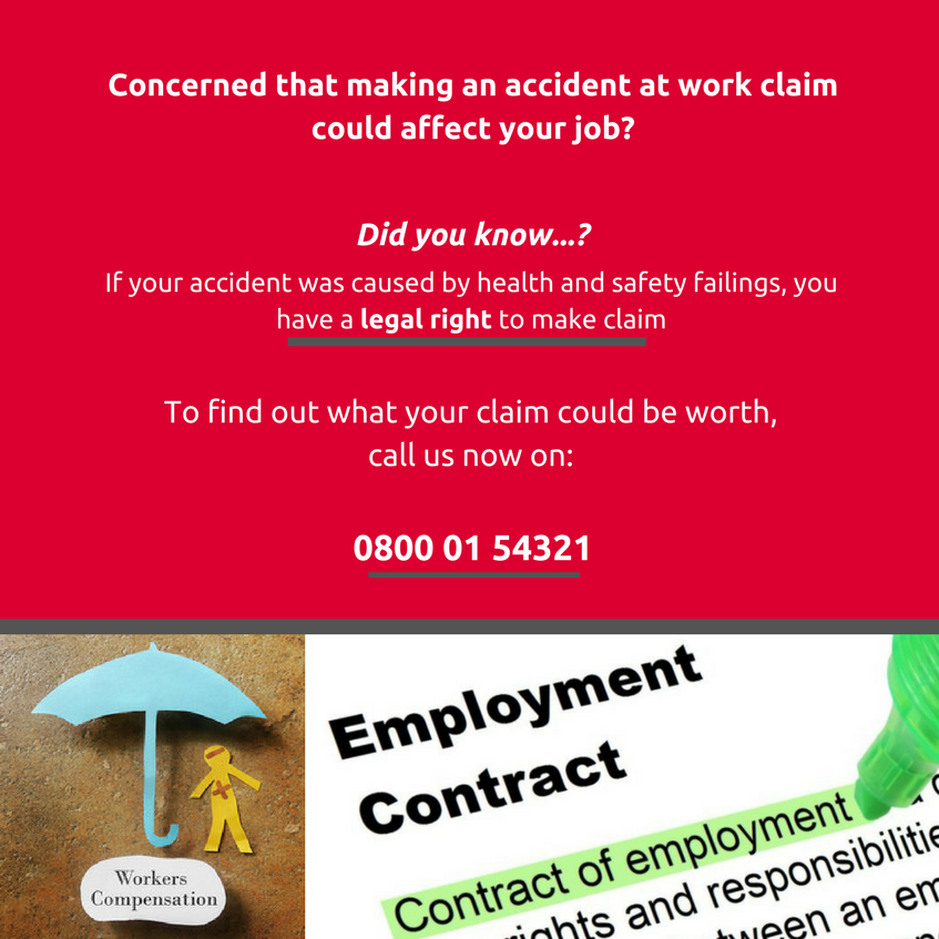 Could making an accident claim affect your job?
