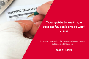 Guide to receiving compensation for an accident at work